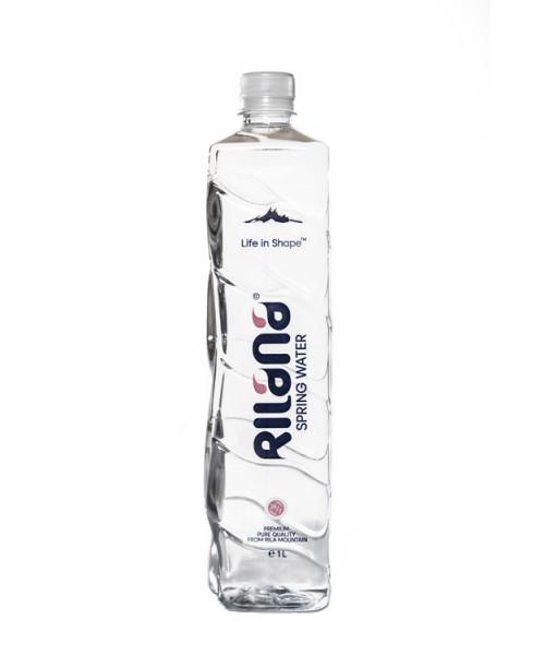 Рилана Изворна Вода квадратна бутилка от 1л. – 6 бр. в стек