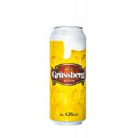 Grüssberg (Грюсберг) 4.3% Бира в кен от 0.500л. – 6 бр. в стек